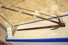 Folding Spetum (The Great Gray Skwid) Tags: museum higgins armory worcester higginsarmorymuseum polearm spetum