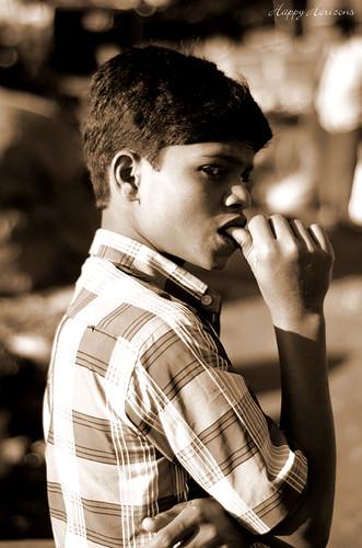Thinking | Madiwala Market, Bangalore