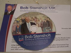 Bob Stensholt election DVD.