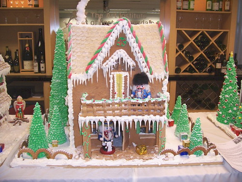 nate's gingerbread house by skullsnbats.