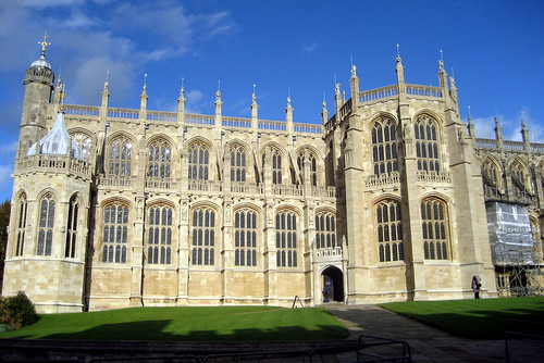 UK - Windsor - Windsor Castle: St. George's Chapel by wallyg.