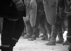 21/11/2006 - 15:42 (Hughes Lglise-Bataille) Tags: blackandwhite bw paris france topf25 riot noiretblanc protest photojournalism police olympus 2006 demonstration f30 shield firemen firefighter manifestation pompiers e500 v500