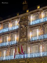 PC070064 (lolaalvarez1) Tags: casa de la panaderia madrid plaza mayor nocturna navidad luces