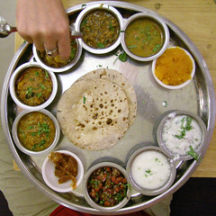 geroff my thali (nospuds) Tags: food india squaredcircle squircle thali