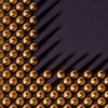 Tiny shadows (Rune T) Tags: abstract detail macro metal computer square gold technology shadows close small amd pins tiny cpu athlon