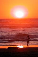 Sunset at Cannon Beach - by TroyMason