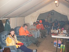 Dinner at the Hunting Camp 2 (vleitholf) Tags: gardiner thanksgiving06