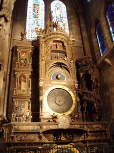 Horloge astronomique - Cathédrale de Strasbourg