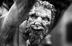 Ammannati - Faun (Jorghenstein) Tags: bw history film monument canon eos florence firenze ilford faun ammannati jorghenstein customdeveloped