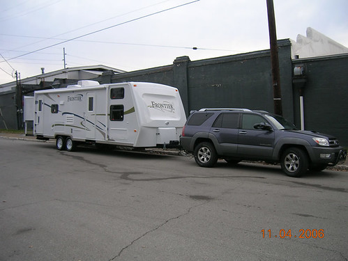 Can You Pull A Travel Trailer With A Toyota Tacoma