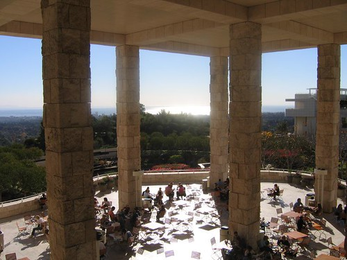 @ the Getty Center