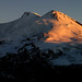 Evening light over Elbrus