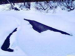 Сестра редко когда полностью встает зимой. Пару лет назад стояли долгие морозы и мне удалось отпахать прямо по ней почти до Теряево. Удивительная речка, родные места.