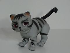 DSC05207 (konakona135) Tags: bjd abjd balljointeddoll luts doll grey tabby cat custom blushing faceup work