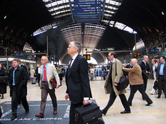 morgonrusning (lawa) Tags: uk england london documentary paddington businessmen howwearenow