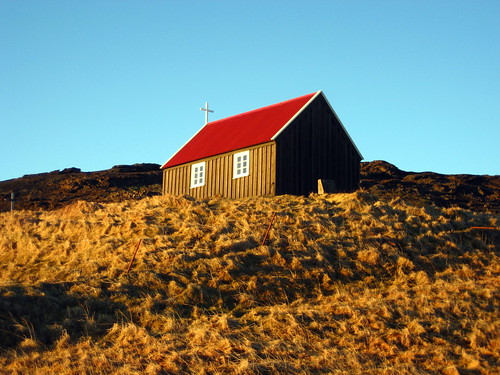 Krisuvik Church, Iceland