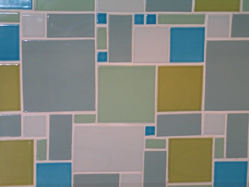 image of my kitchen tile pattern I created