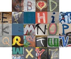 Graffiti/handwriting letters