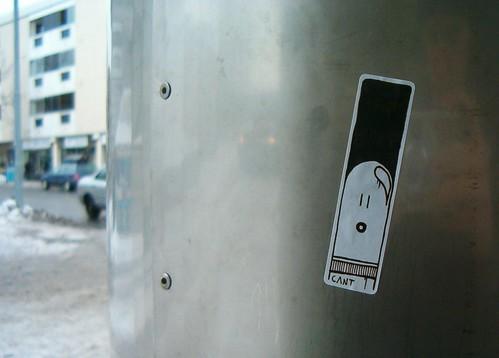 HPIM9674. Sticker, Mikkeli