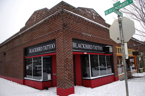 blackbird tattoo killingsworth