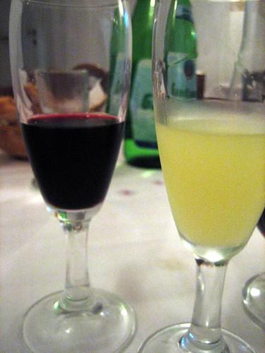 Limoncello and Passito