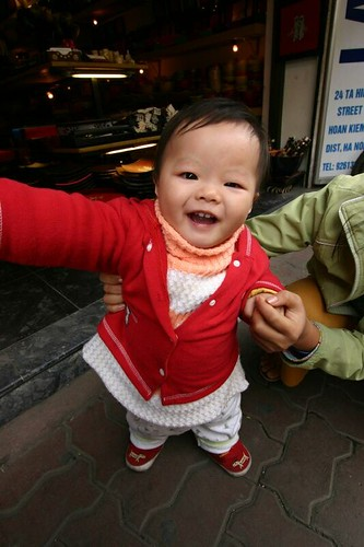 Hanoi youngster...
