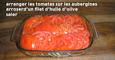 Tian - Arrangement tomates