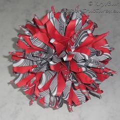 Scrupts (K16052) (Origami Spirals) Tags: curler paper fold twirl origami burczyk folding art krysbur
