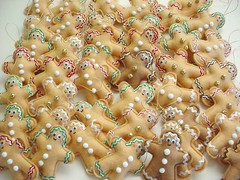 ~ Gingerbread Men Ornaments ~ (Warm 'n Fuzzy) Tags: xmas holiday cute cookies decoration gingerbread craft ornaments kawaii accessories etsy warmnfuzzy warmnfuzzynet hsa7deck