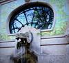Hippo fountain at Milano's aquarium (Nada BN) Tags: milano italy aquarium artnouveau liberty jugenstil