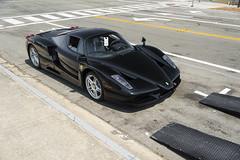 Black Enzo (Axion23) Tags: black nero enzo ferrari monterey carweek mecum auction jplogistics