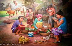 Khmer rural life (kuntheaprum) Tags: simplykhmer khmerart