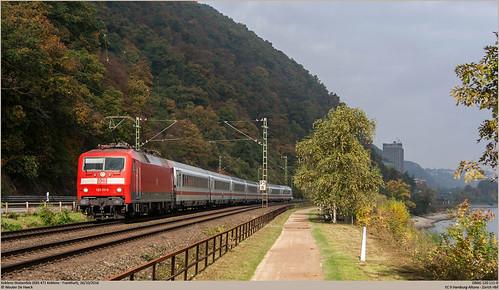 DBAG 120 111-0 @ Koblenz-Stolzenfels