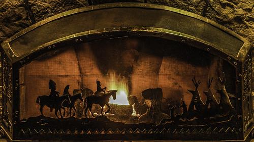 Fire Screen Scene
