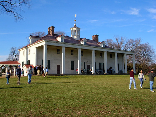 Mount Vernon from the back
