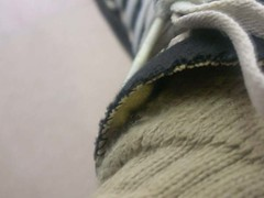 my shou (Avvinash.) Tags: brown black socks closeup shoe laces whits blackandbrown