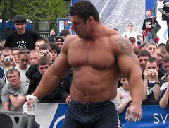 Michael Sidorychev (105) (Pete90291) Tags: pecs muscular chest tattoos strong muscleman biceps abs strongman strongmen worldsstrongestman hugethighs hugelegs michaelsidorychev tattooedmuscle mikhailsidorychev