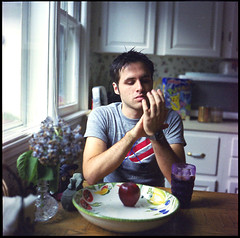 Adam McGrath. Maryland. (Brian Maryansky) Tags: tlr cavein yashica