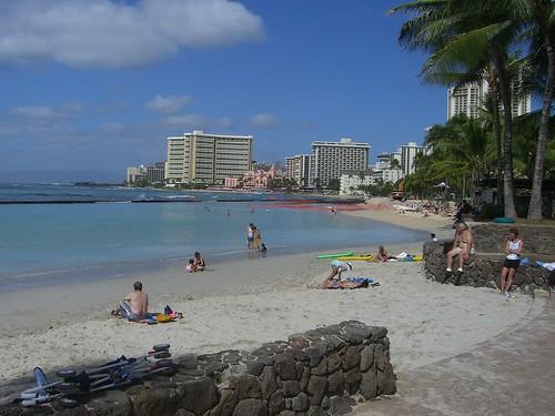 Another shot of Waikiki Beach