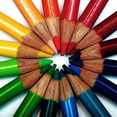 (Curtis Gregory Perry) Tags: color art colors pen pencil pencils rainbow colorful spectrum drawing colored