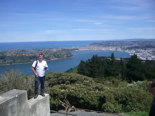 Pat, Squage And The View Of Dunedin