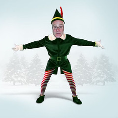 The Elf Can Dance - click below (Leo Reynolds) Tags: xmas elf hpexif webthing xratio11x xleol30x