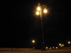 Il mio primo Lampione (Stranju) Tags: longexposure italia lungomare livorno notte luce lampion terrazza nigthshot mascagni canonpowershots3is stranju withcanonican