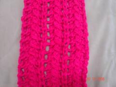 cachecol pink detalhe