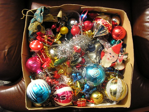 GOLDEN AGE CHRISTMAS TREE ORNAMENTS