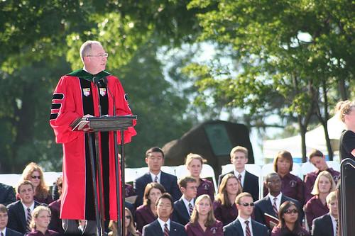 September: President's Inauguration