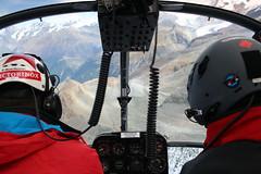 Helicopter ride (featuresforfeet) Tags: switzerland zermatt alpineclimbing