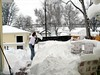 Lots of snow for the Blizzard of 2006