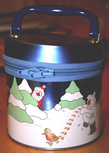 Christmas Tin