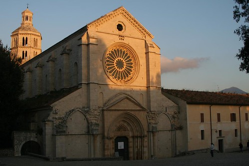 The church in Priverno